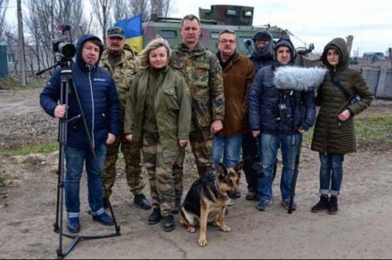Украинский фильм про фронтовую овчарку