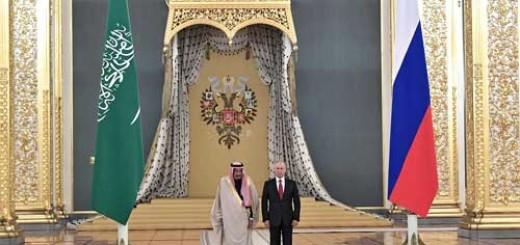 путин король саудовская аравия