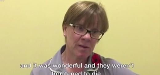 Nurses reveal people's last words before they die