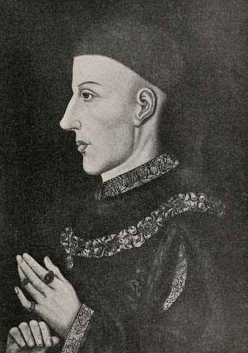 Какой английский король был застрелен стрелой в лицо, когда ему было шестнадцать лет?