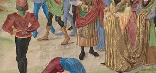 средневековая молодежь