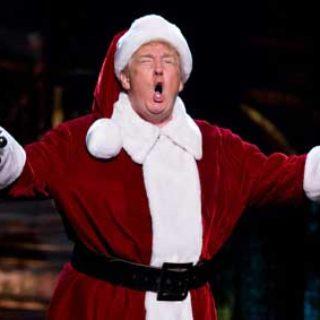 Трамп Санта Клаус