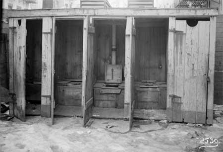 Жизнь в Нью-Йорке до крытых туалетов