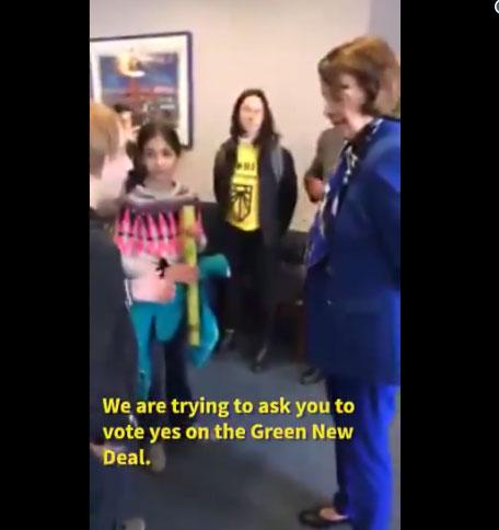 Внезапный спор сенатора с школьниками по поводу изменения климата