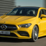 2020 Mercedes-AMG CLA 35 ставит 300 лошадиных сил в обтягивающее тело