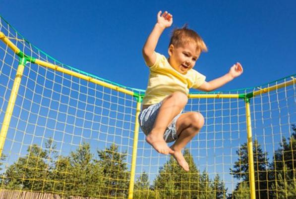 Польза батутов для здоровья детей