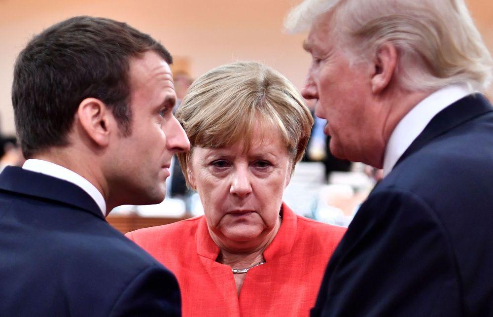 Новости: Меркель и Макрон захвачены холодной войной